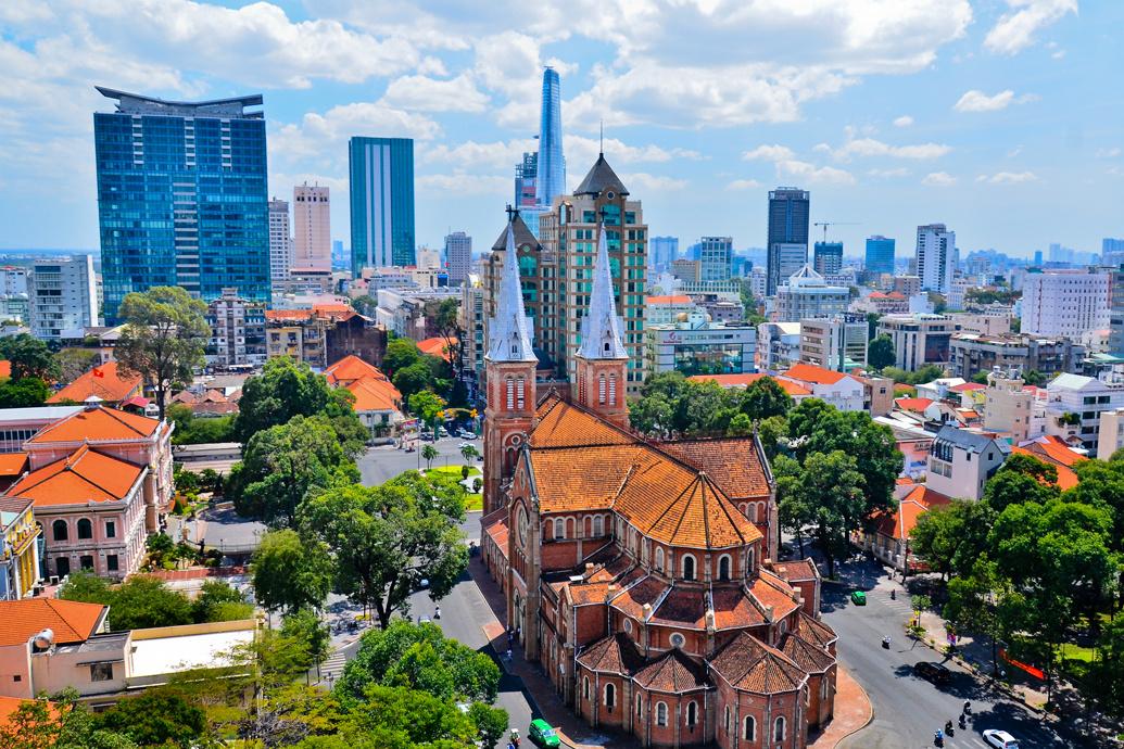 картинка фотография курорта Хошимин (Сайгон) во Вьетнаме