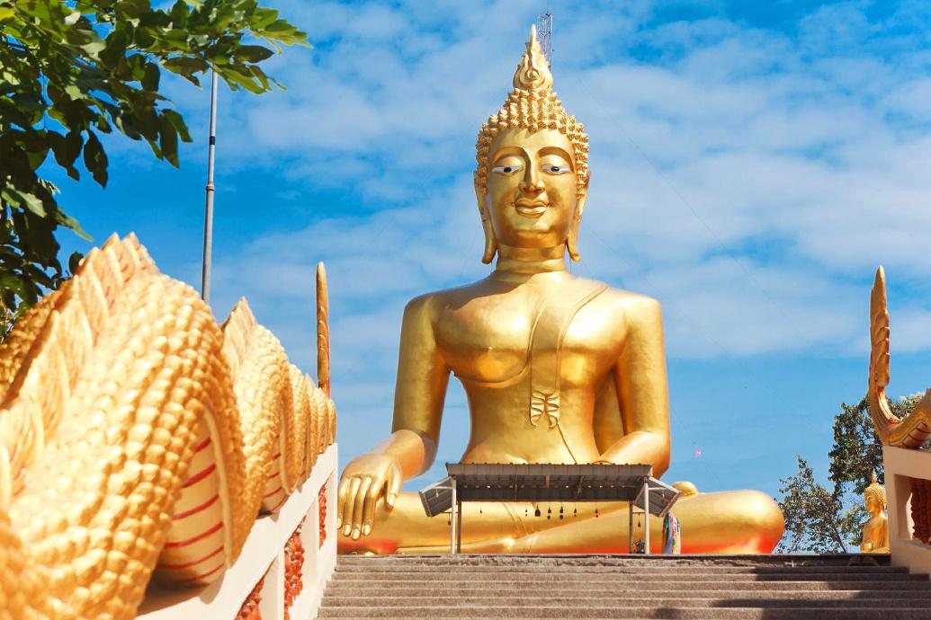 результате большой будда в паттайе фото символ
