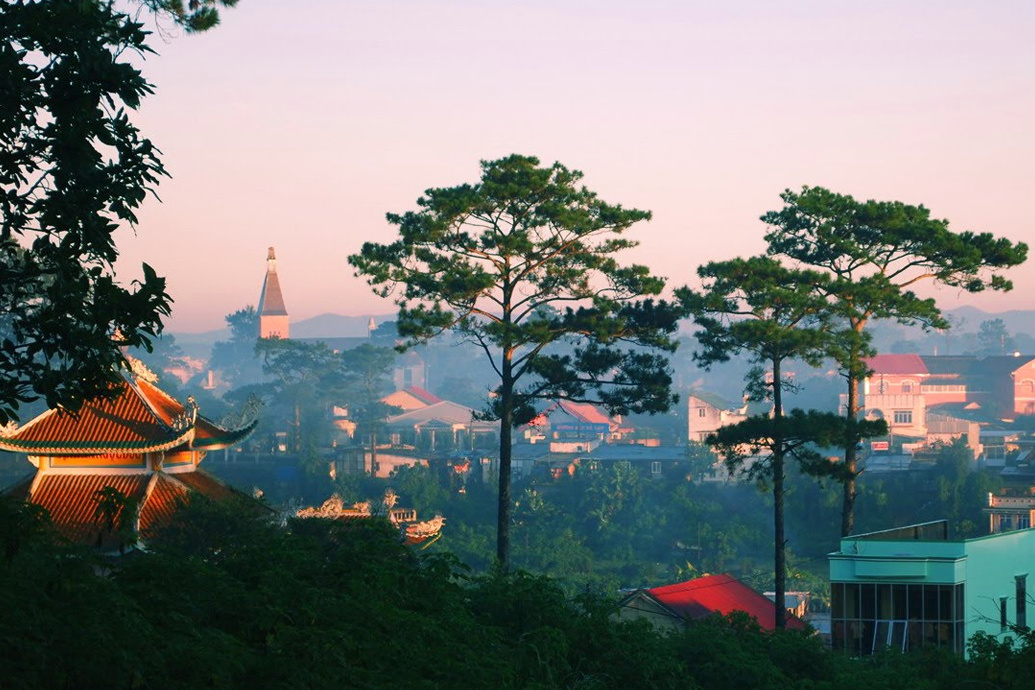 dalat Da lat (dä lät), city (1989 pop 87,136), s vietnam, in the central highlands, alt c5,000 ft (1,520 m) developed by the french as a health resort and hunting center, it is a.